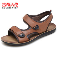 ankle walking - 2016 Guciheaven comfortable C6z0030 Men s Beach Sandals Upstream Outdoor Sports Shoes blue brown Breathable Walking Shoes