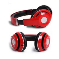 Wholesale Colorful Headband Bluetooth headset Sports wireless stereo headphones supporting TF card with retail Box Factory