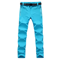 Wholesale Female New outdoor quick drying solid pants models stretch pants drying mountaineering riding pants