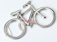 Cheap Free Shipping Fashion Bike Bicycle Metal Beer Bottle Opener keychain key rings Wedding Favors Gift,200pcs lot 160404#