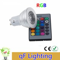 atmosphere change - 4W GU10 RGB LED Light Bulb Color RGB Change V V with Remote for home party decoration atmosphere
