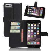 para la caja del teléfono celular de moda de cuero de la PU iPhone 7 Plus 1: 1 de montaje 5.5