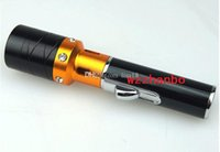 Wholesale sneak a vape vaporizer incense burner Click N Vape Herbal Vaporizer smoking pipe Trouch Flame Lighter With Built in Wind Proof Torch Lighter