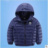 Wholesale New Fashion girls down coat clothes children outwear boys thick warm jacket for autumn winter kids outerwear