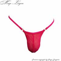 achat en gros de mesh lingerie libre-Livraison gratuite! Hommes Chaussettes sexy mailles panties transparentes en poche sexy 9 couleurs minces sexy g-string micro thong Sex lingerie