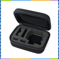Wholesale Black Small Medium Biggest Size Shockproof Portable Case Collecting Box For SJCAM SJ4000 GoPro HD Hero Camera Accessory