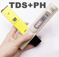 Wholesale Portable Pen LED Digital PH ATC TDS calibrate by hold TEMP botton Meter Measuring Water Quality Purity Tester