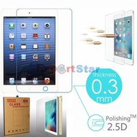 Wholesale Premium Tempered Glass Screen Protector For Apple iPad quot Tablet PC Film HD Clear Screen Protect Cover Guard
