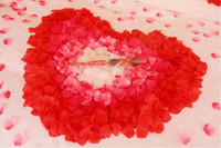 Wholesale Artificial Rose Petals colors set colorful wedding petals Fake Artificial Flower Home And Wedding Decor