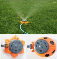 Wholesale garden tool functions green ladybug shape sprinkler for garden decoration watering flowers plants or as lawn sprinkler GD