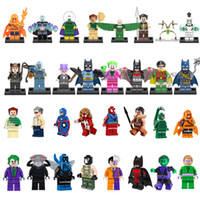 avengers assemble movie - 32pcs hot movie The avengers civil war suiside squade Super Heroes Minifigures Building Blocks Assemble Sets Action Toys christmas