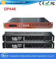 Wholesale 2016 hot sell Karaoke Professional Audio Digital Processor Digital Power Outdoor Speakers PRO Audio Speakers Processor DP448
