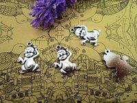 antique monkeys - 27pcs fashion simple antique silver tone monkey charms pendants