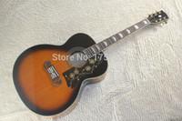 Wholesale HOT j200 Acoustic Guitar Vintage Sunburst Acoustic Guitar
