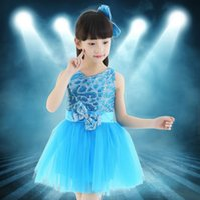 Wholesale Children Dance Tulle Dress Girl Ballet Dress Fitness Girls Dress Party Dress Clothes Clothing Performance Wear Dance Costume