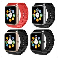 Wholesale GT08 Smart Watch Call Reminder Passometer Fitness Tracker Remote Control Multi function Smart Watches For Android Phones DHL Free