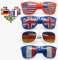 adult flag football flags - New US and Belgium flag sun glasses Brazil Germany s sunglasses flag football fans sun glasses