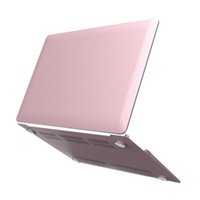 Wholesale Rose Gold Metallic Hard Cover Case for MacBook Air quot Pro Pro Retina quot MacBook Air A1369 A1466 Plastic PC Shell Cover