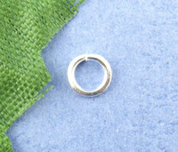 Wholesale 1500PCs Silver Plated Open Jump Ring mm Dia Mr Jewelry