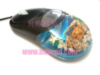 amber mouse - Novel Sealife starfish Crab Amber Optical Mouse forsouvenir novelties So eye catching So vivid mouse rodent crab lure
