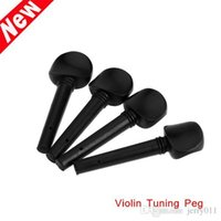 Wholesale Violin Pegs High Quality Ebony Wood Violin Tuning Pegs for size Violin Price