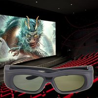Wholesale 2016 Newest Bluetooth D Active Shutter Glasses for D TV HDTV Blue ray Player