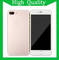 Wholesale TOP Version REAL TOUCH ID Goophone i7 plus G LTE Octa Core MTK6592 inch IPS G RAM G ROM MP Camera smartphones