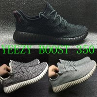 Wholesale Running Shoes Yeezy Boost Basketball Shoes Mens Black Running Shoe Top Kanye West Sneakers Yeezys Womens Basketball Shos