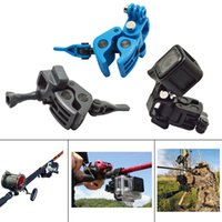 Wholesale Universal Sportsman Gun Fishing Rod Fixed Clip Holder Mount For GoPro Hero SJCAM Action Camera