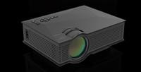 av sd card - Portable Mini Projector UC46 Portable Multimedia Home Cinema Theater Lumens LED Projection with USB VGA HDMI SD Card AV WiFi for Party