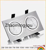 bedding home decor - YON LED Downlight Square W W W W W W W W W Recessed Lamp V Home Kitchen Decor Warm Cool White Lighting