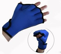 Wholesale Gear Swim Gloves Aquatic Fitness Water Resistance Training Aqua Fit Webbed Gloves Neoprene Diving Gloves for Adults Webbed Glove