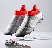 Wholesale Free Ship New X Purechaos FG AG soccer boots Pure Control Football Shoes Soccer Cleats Boots Cheap Original Quality EUR