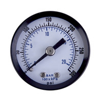 air pressure gauge liquid - quot NPT Air Pressure Gauge Liquid Filled PSI Back MT quot FACE new arrival