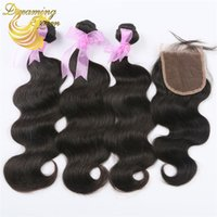 Wholesale Virgin Human Hair Weaves Wig Natural Black Body Wave Brazilian Peruvian Malaysian Dyeable Human Hair Weaves