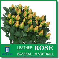 Wholesale Softball Roses made from real softballs Softball roses bouquet