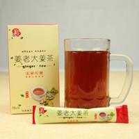 Wholesale Hot Sale organic ginger tea herbal Powder Natural Diet Blended GINGER THE BIG Drop Shipping g for global market