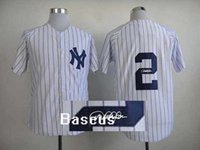 autographs for sale - MLB Yankees Derek Jeter White Baseball Jersey Signature Baseball Shirts Autographed Sports Team Uniforms Hot Sale Athletic Shirts for Men
