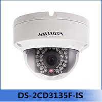 Wholesale New Hikvision CCTV Camera Multi language DS CD3135F IS replace DS CD3132F ISW MP Mini Dome Camera P POE IP CCTV Camera