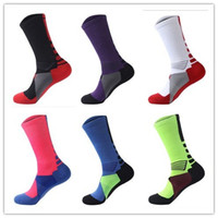 Wholesale Pair Professional mens Basketball Elite Socks Fashion Thicken Towel Outdoor Sports Athletic Sport Socks skateboard sox For Men