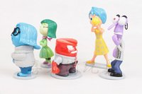 anger free - inside Out Figure toys New Cartoon Japanese Animation set PVC Figure Five Emotions Anger Joy Fear Disgust Sadness