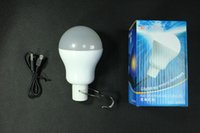 led led manufacturer - Manufacturer w Rechargeable emergency lights outdoor camping light bulbs W long hours of lighting factory direct sales patent products