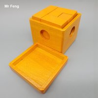 Wholesale Chinese Brain Teaser Kong Ming Lock Toy Wooden Puzzle Box Game