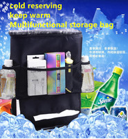 Wholesale Seat Protector Cover Pouch Auto Car Seat Organizer HolderMultifunctional storage Travel Storage Bag Hanger Back For Children Kick Mat Mud