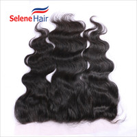 Cheap 8A Cheap Peruvian Hair 13x2 Lace Frontal Closure Unprocessed Human Hair Bleached Knots Body Wave Full Lace Frontal Pieces Dyed and Bleached