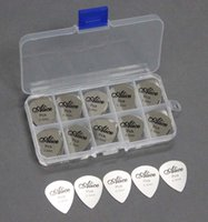 alice guitar picks - In business Alice Stainless steel picks Cool Guitar Picks Stainless Steel Pick Thickness mm Shipping Free