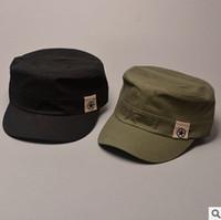 Casquettes concepteur de chapeau Avis-Designer plaine coton militaires étoiles chapeaux avec la carte de la Chine à l'intérieur de l'imprimé pour les hommes Womens Summer Sun Caps noir armée vert marine beige marron couleur
