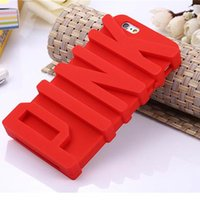 apples letter iphone - 3D Pink Letter secret silicone phone back cover case for iphone s s s s plus s s plus
