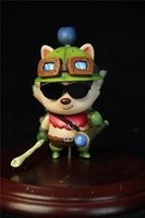 Wholesale Donnatoyfirm PVC Q Version League Of Legends LOL Teemo Japanese Cartoon Characters Anime Figure cm Action Figure