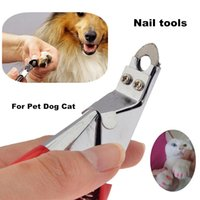 Wholesale Pet Dog Cat Nail Clippers Animal Toe Claw Scissors Dog Cat Toe Paw Nail Clippers Nail Trimmer Claw Cutter Grooming Tool